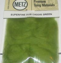 Даббинг Superfine dry fly dub caddis green Wapsi / Metz