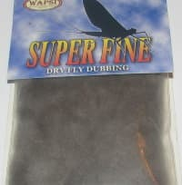 Даббинг Superfine dry fly dub adams gray Wapsi / Metz