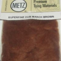 Даббинг Superfine dry fly dub  march brown Wapsi / Metz