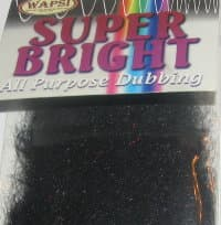 Даббинг Super Bright All Purpose Dubbing black Wapsi