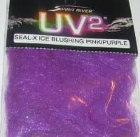Даббинг seal-x Ice blushing pink / purple UV 2 Spirit River