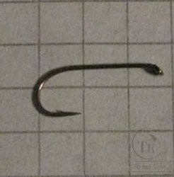 крючки ТIEMCO  FLY HOOK  TMC 100  № 12 Bronze (10 штук)