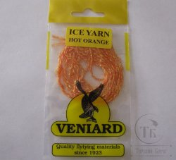 Ice yarn Hot Orange Veniard