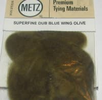 Даббинг Superfine dry fly dub blue wing olive Wapsi / Metz