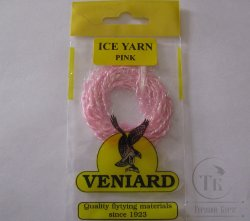 Ice yarn  Pink Veniard