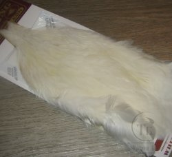 Скальп курицы Coq de Leon Hen Cape Pure White  Whiting