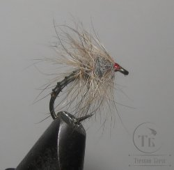 Муха CDC 027  caddis scud red head № 10