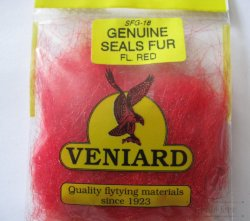 genuine seals fur Veniard fl red