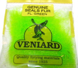 genuine seals fur Veniard  fl green