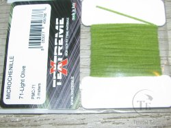 microchenille lt. olive Textremе