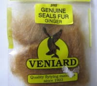 genuine seals fur Veniard ginger