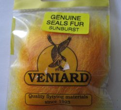 genuine seals fur Veniard  sunburst