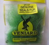 genuine seals fur Veniard green hight