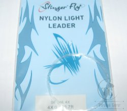 nylon light leader 7 ft 4X 0.178