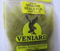 genuine seals fur Veniard lt olive