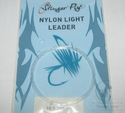 nylon light leader 7 ft 3Х 0,203