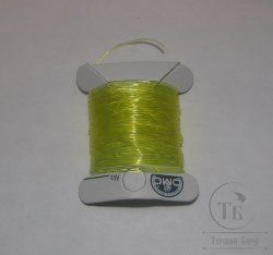 silicone thread fl yellow / chartreuse D 0,8 mm