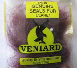 genuine seals fur Veniard  claret