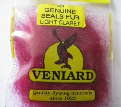 genuine seals fur Veniard lt claret