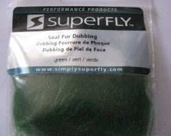 seal fur dub Super Fly  green