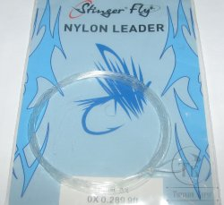 nylon leader 9 ft 0X  0.289