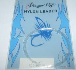 nylon leader 9 ft 1X  0.254