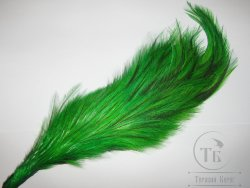 Скальп петуха 1/2 Whiting Coq De Leon  cape Green Lt. Badger