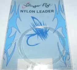 nylon leader 9 ft 2X  0.229