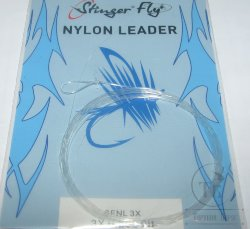 nylon leader 9 ft 3X  0.203