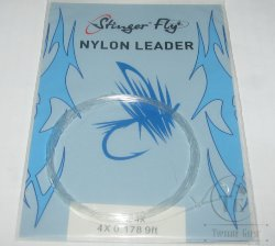 nylon leader 9 ft 4X  0.178
