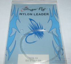 nylon leader 9 ft 5X  0.152