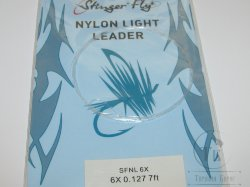 nylon light leader 7 ft 6X 0.152