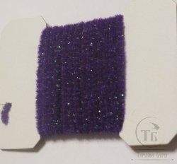 wooly bugger chenille medium purple