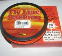 backing  BRAIDED DACRON USA 0.71 mm 91 m 15 kg Orange