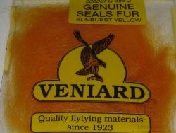 genuine seals fur Veniard sunburst yellow