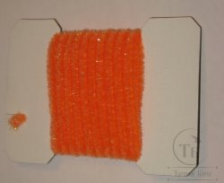 wooly bugger chenille medium fl orange