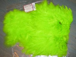 Soft Hackle Marabou Patch Chartreuse Wapsi