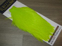 Скальп петуха  Whiting American Rooster Cape Fl. Yellow Chartreuse