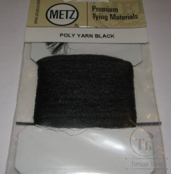 Polypro yarn  black Metz