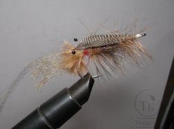Муха Streamer Shrimp SSH 06 Mallard bronze  крючок Sea №1\0