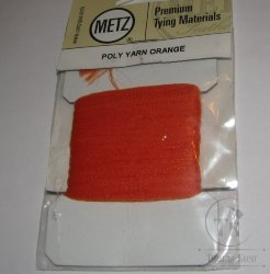 Polypro yarn orange  Metz