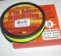backing  BRAIDED DACRON USA  0.71 mm 91 m 15 kg Chartreuse