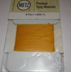 Polypro yarn yellow Metz